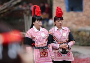 【罗源】已婚有福气的女子才能成为畲族婚礼的伴娘