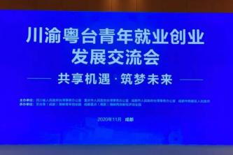 川渝粤台青年就业创业发展交流会在成都举行
