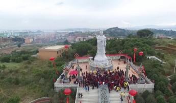 陈靖姑石雕像告竣大会在莆田举行,促进海峡两岸同胞友好交流
