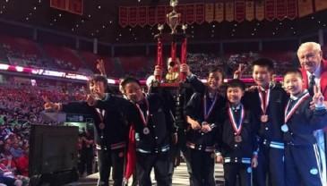 宁波两学校在美获世界头脑奥赛冠军