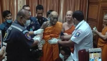 泰国高僧去世2个月 遗体面带微笑不腐烂