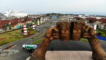 青岛:备战啤酒节