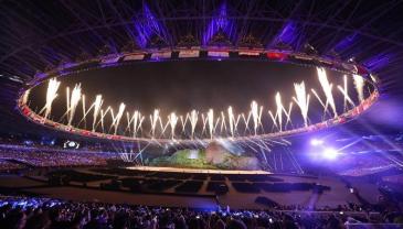 雅加达亚运会开幕式筹备一年 总成本超2亿