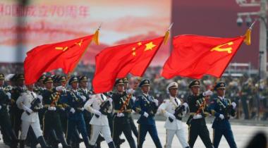 """国庆70周年阅兵中的7个""""首次"""""""