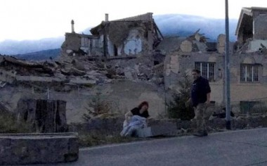 意大利中部城市佩鲁贾附近发生6.4级地震