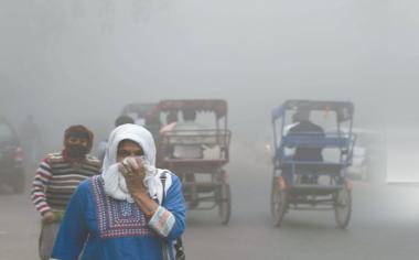 """新德里大雾霾印高官称像是""""毒气室"""""""