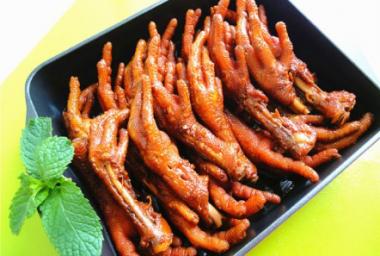 秘制酱油皇鸡爪—冬季暖身