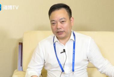 第十七届中国·海峡创新项目成果交易会专访——福建省电子信息集团副总经理黄舒