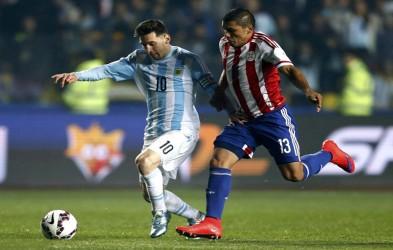 美洲杯-梅西3助攻 阿根廷6-1进决赛