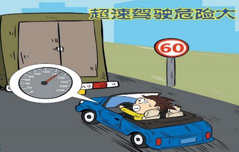 超速驾驶危险大