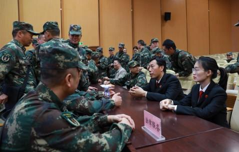 福建永安法院开展宪法进军营主题日活动
