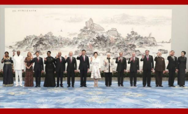 习近平和彭丽媛举行欢迎宴会