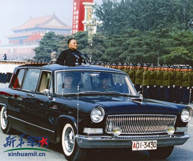 1984国庆35周年阅兵珍贵旧照