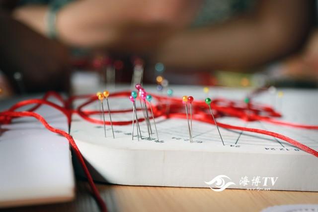 错综复杂的编织手法与传统文化相融合.