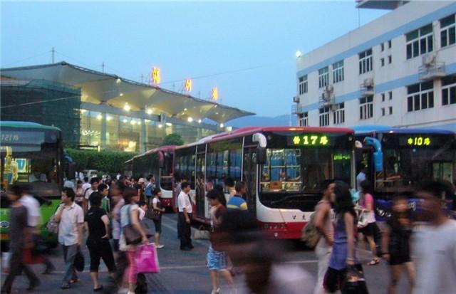 福州火车站公交站迁至北广场 乘坐公交要细看图片