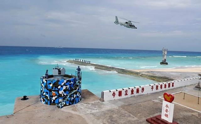 外媒:中国南海填海远超预期 未来或常驻航母