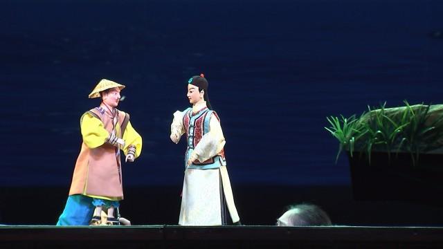 蔡美娜是晋江市掌中木偶剧团的台柱子