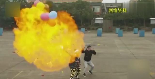 最大氢弹图片_都躲着点!电梯里这东西突然爆炸,6人全受伤!_交通广播_福建 ...