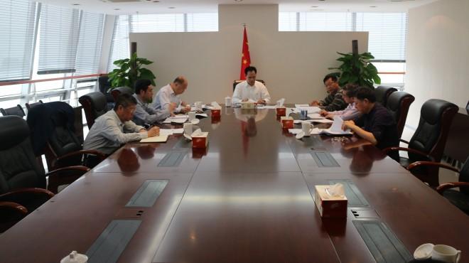 省委巡视四组派员指导集团党组会议