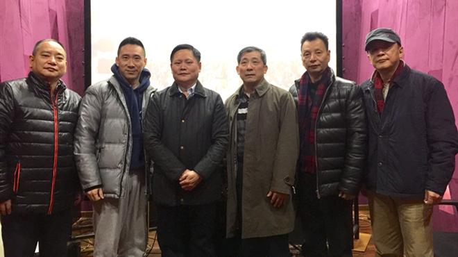 省委宣傳部副部長、省電影局局長陳立華赴京看望京劇電影《大鬧天宮》、電影《古田軍號》劇組
