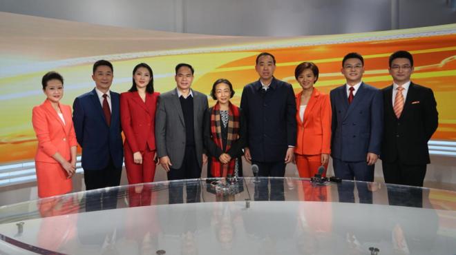 郭宁宁副省长到集团看望慰问一线新闻工作者