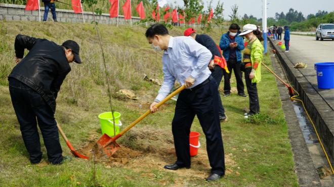 福建省廣播影視集團開展2020年植樹志愿活動