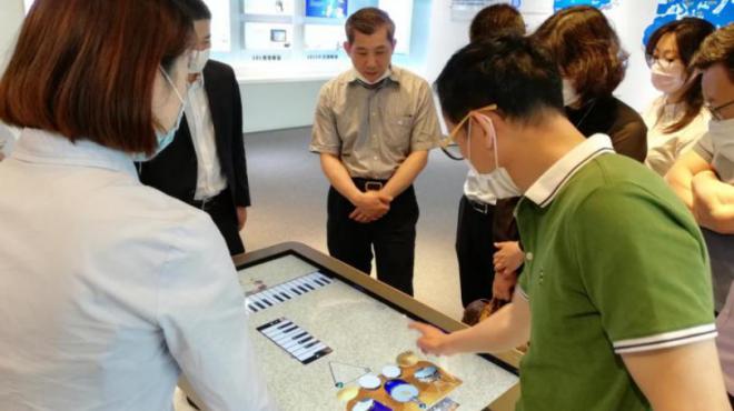 集團領導赴長樂網龍數字教育小鎮洽談對接合作事宜