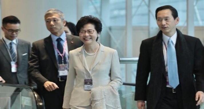 林郑月娥当选为香港特区第五任行政长官人选