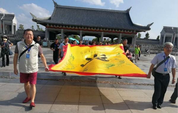 台湾资深媒体人客家祖地祭祖 了却父亲遗愿