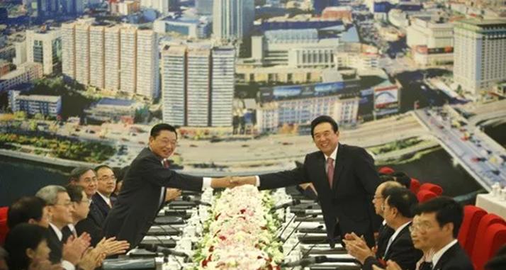 台湾海基会前董事长江丙坤逝世 曾造访248个大陆城市