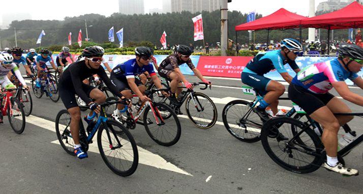 第六届两岸职工自行?#31561;?#22312;平潭举行,300多名台湾运动员参赛