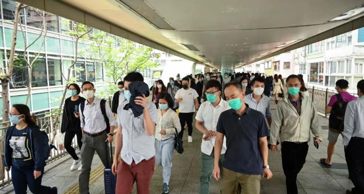 警惕!香港本地病例单日破百,钟南山最新建议