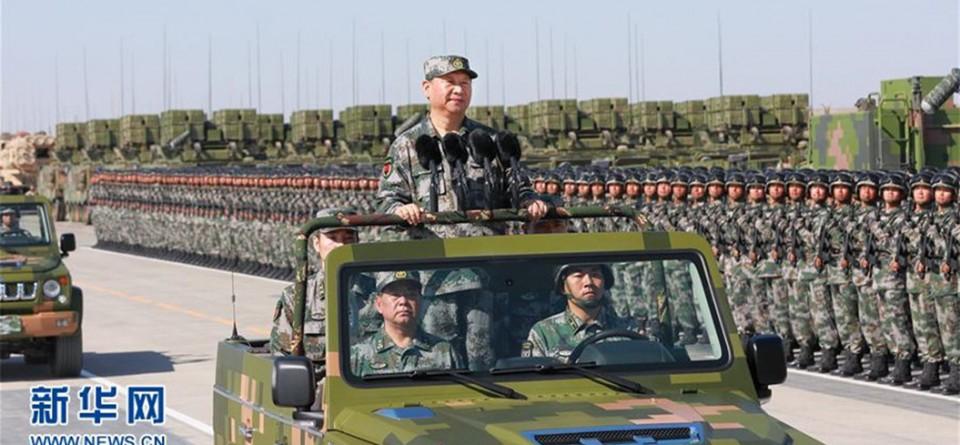 庆祝建军90周年阅兵隆重举行