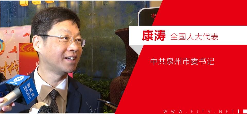 微视频|人大代表康涛:总书记要求加快推进