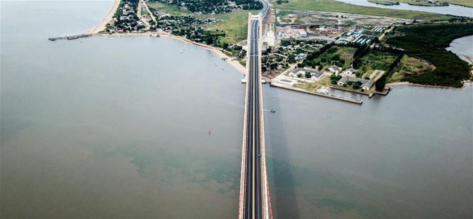 """马普托湾上的""""百年工程""""——马普托大桥巡礼"""
