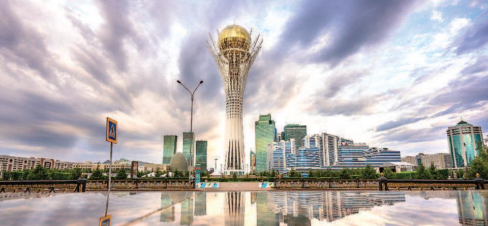 """哈萨克斯坦:共建""""丝绸之路经济带""""倡议诞生地"""