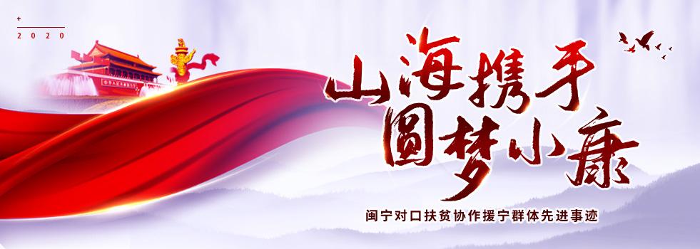 山海携手 圆梦小康——闽宁对口扶贫协作援宁群体先进事迹