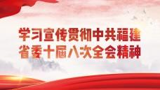 学习宣传贯彻中共福建省委十届八次全会精神