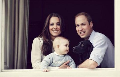 英国乔治小王子周岁生日 盘点一年来成长轨迹