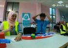 巴勒斯坦举行魔方锦标赛