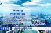 前三季度全省经济持续向上向好,同比增长2.4%
