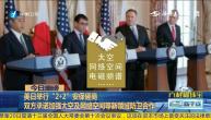 """美日举行""""2+2""""安保磋商 双方承诺加强太空及网络空间等新领域防卫合作"""