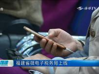 福建省微电子税务局上线